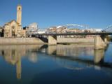 Riu Ebre i Pont de l´Estat