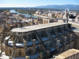 Tortosa. Vista des del Castell de la Suda