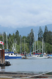 2010  Burrard Inlet & North Shore Mountains - Vancouver BC