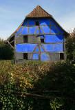 La maison bleue.