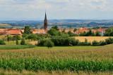 Alsace in summer.