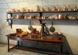 la cuisine, chateau de Chenonceau.