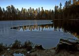 lac de la Maix en hiver