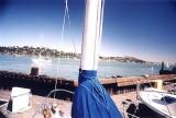 Richardson Bay from her slip