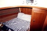 fwd cabin dbl. berth to port