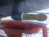 saildrive w. folding prop - closed