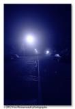 At night ...