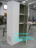 Armadio metallo alluminio bianco su disegno cliente_1_1.jpg