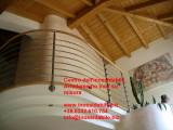 parapetto protezione tubo inox sagomato lavorato su soppalco_2_1.jpg