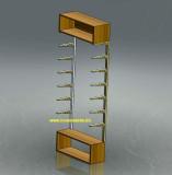 scaffale inox con mobili legno arredo esposizione.jpg