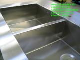 vasche inox su misura con ribasso ottenute da piegatura