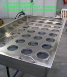 vasca inox su misura per lavorazione latte formaggio