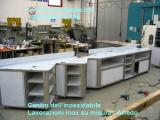 mobili ina acciaio inox personalizzati per negozio