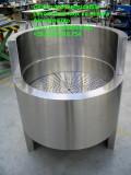 Vasca su misura in acciaio inox AISI 316 per pesce ristorante