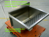 vasca lavapanni in acciaio inox su misura artinox