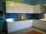 Cucina inox legno su misura - customized kitchen - Dego Giovanni Falegnameria.JPG