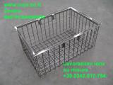 cestello inox AISI 316 per tavolo imbarcazione