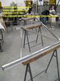 parapetto in acciaio inox satinato su misura per scala