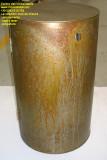 Mobiletto in lamiera ferro acidato con anta
