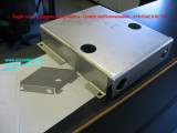 scatolato inox 3 mm AISI 316 tagliato al laser e piegato