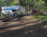 Lower Bridge Campground, Metolious River