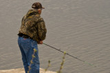 Fishing on the Mill Pond  ~  May 10