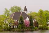 Spring at the Mill Pond Church  ~  May 25