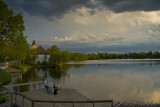 Late Afternoon Fishing on the Mill Pond  ~  May 31