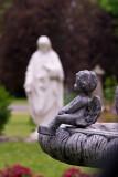 Sacred Heart Church Garden  ~  June 28