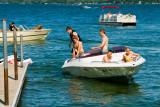 Boating on Green Lake  ~  June 29
