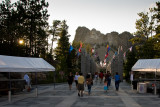 Late Afternoon at Mount Rushmore  ~  August 4