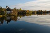 Mill Pond Church Autumn  ~  October 17