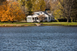 Mill Pond Home Late Autumn  ~  October 27
