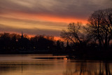 Mill Pond Sunset  ~  November 11