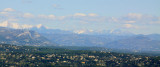 The Alps from Tanneron
