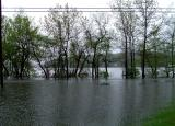 Flood pictures of the Merrimack Valley MA area May 2006