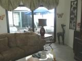 . Living Room & interior atrium in background