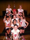Girls 13U White