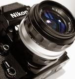 Nikon F2Nikkor-S.C  1:1.4  f=50 mm