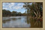 Murray River looking towards Echuca-Moama bridge