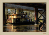 P.S. Emmylou -Tight squeeze under the bridge at high water level