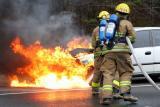 Route 8 Vehicle Fire (Shelton) 3/26/06