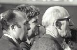 Football Game - Teachers - Roger Cruikshank (math), Don McEwan (history) and Mr Main (drafting)