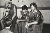 Roman Day - Eric Bristow (l), Greg Sewell (c) Steve Halmo (r)