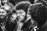 Barry MacArthur in the stands