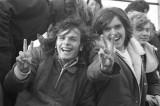 Bill Salyi and John Knott at Brantford football game