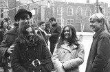 Paul Shay, Kathy Horn, Dawn Wood and John Brightman on ROM fieldtrip