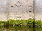 Shipyards Drydock Water Level Aug 25, 2012 at 1500 - close up