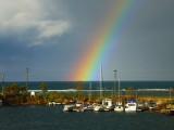 Rainbow on Nottawasaga Bay
