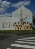 June 25 2010: The Great War Mural at Albert